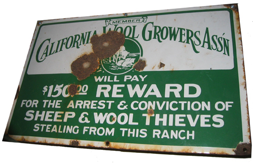 CAWG sign
