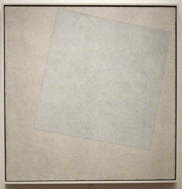 White on White - Kazimir Malevich, 1918