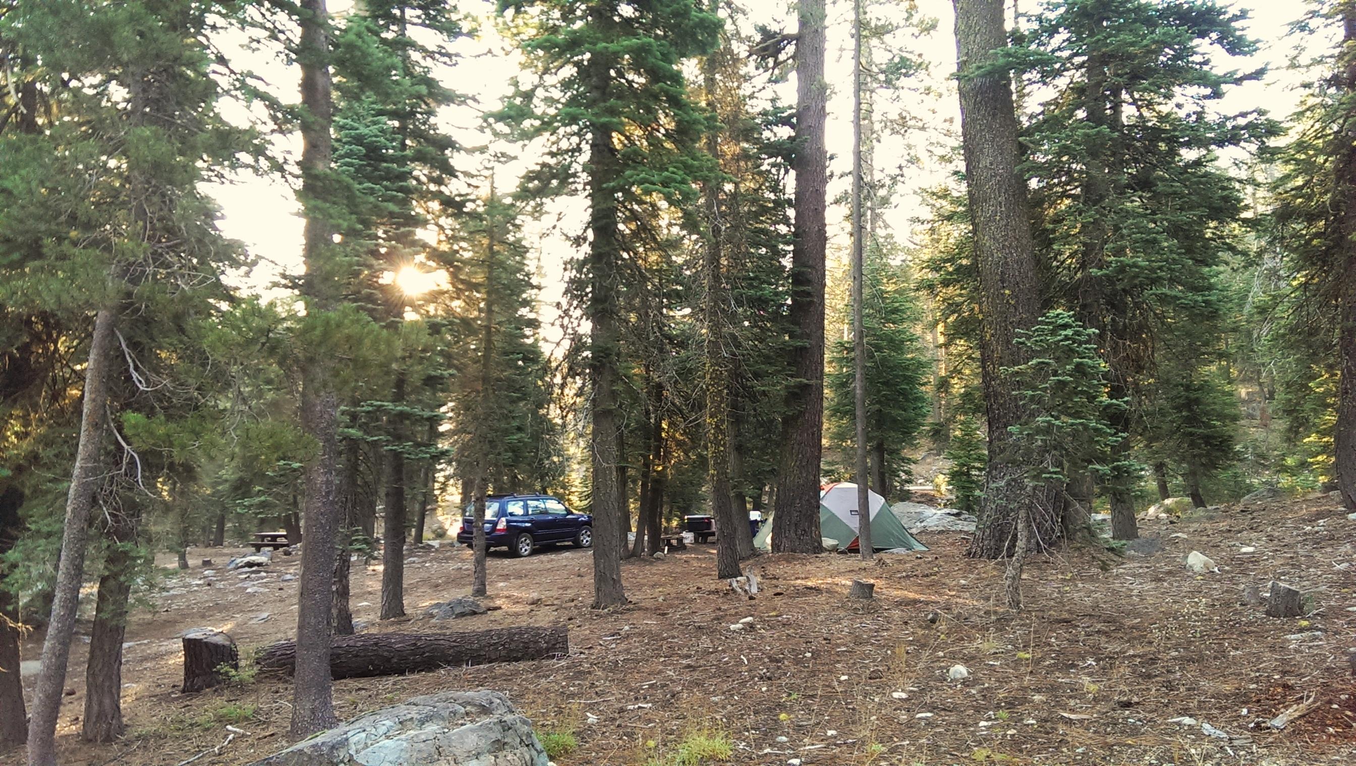 Diablo Campground site 18